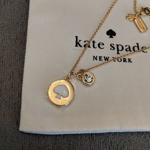 ♠️ Kate Spade logo necklace *NRW